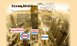 Exxon Mobil Brief Review of the Company 2012