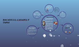 Copy of BOCADILLO, CANAPES Y TAPAS