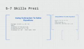 5-7 Skills Prezi