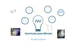 Hurricane Joan-Miriam