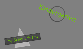 My school years!