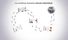 Copy of La condition humaine d'André MALRAUX