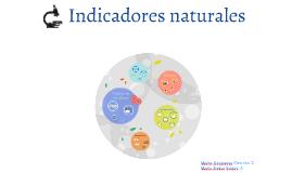 Copy of Indicadores naturales