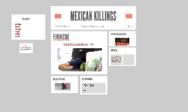 MEXICAN KILLINGS