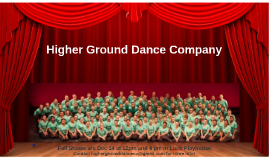 Higher Ground Dance Company