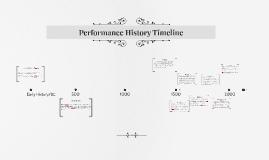 Performance History Timeline