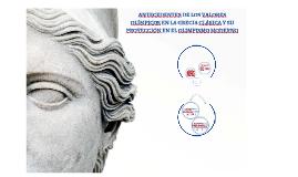 Antecedentes de los valores olímpicos en la Grecia Clásica y su proyección en el Olimpismo moderno