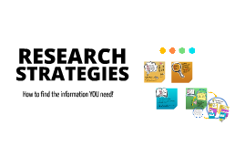 RESEARCH STRATEGIES-ENGL 1020