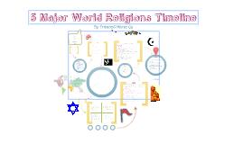 5 Major World Religions Timeline by Frances Go on Prezi