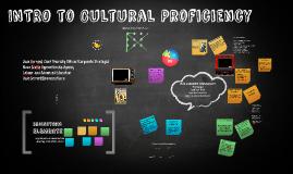 Cultural Proficiency Govt