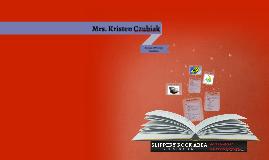 Mrs. Kristen Czubiak