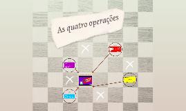 As quatro operações
