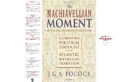 The Maquiavellian moment - J. G. A. Pocock