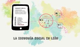 la economía social en León