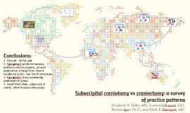 Suboccipital craniotomy vs craniectomy: a survey of practice