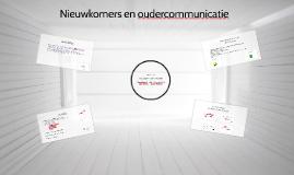 Nieuwkomers en oudercommunicatie