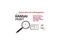 Human Resource Management at
