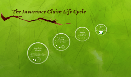 The Insurance Claim Life Cycle