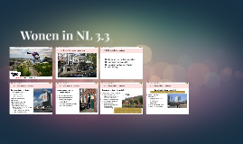 Wonen in NL 3.3