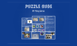 Puzzle cube ied