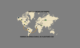 NORMA INTERNACIONAL DE AUDITORIA 560