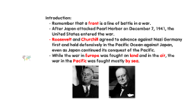Fighting WWII - The Pacific Theater