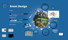 Event Design W3