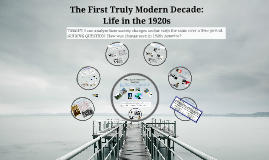 The First Truly Modern Decade: