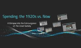 Spending: 1920s vs. Now