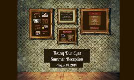 Fixing Our Eyes-Summer 2014