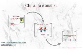 Chiralità e analisi