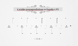 Carteles propagandísticos en España s.XX