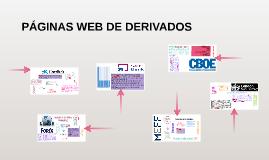 PÁGINAS WEB DE DERIVADOS