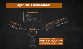 Agencias Calificadoras