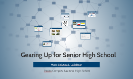 Gearing Up for Senior High School