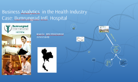 Business Analytics in the health industry