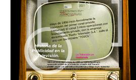 Historia de la Publicidad en la Televisión.