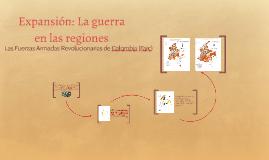 Expansión: La guerra en las regiones