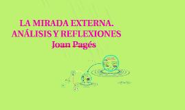 LA MIRADA EXTERNA. ANÁLISIS Y REFLEXIONES