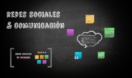 redes sociales & comunicación