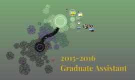 2015-2016 Graduate Assistanceship