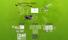 Things Fall Apart - Achebe