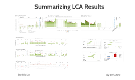 Version 2 Summarizing LCA Results