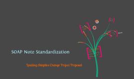 Copy of SOAP Note Standardization