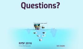 NYSF 2016
