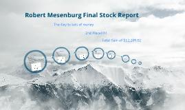 Robert Mesenburg-Final Stock Report