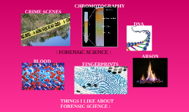 Amanda Rhodes : Forensic Science