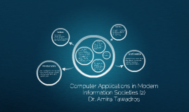 Computer Applications in Modern Information Societies (2)