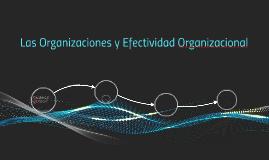 Las Organizaciones y Efectividad Organizacional