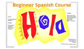 Beginner Spanish Course